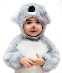 bambino vestito a carnevale