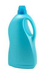 Plastic bottle with cleaner