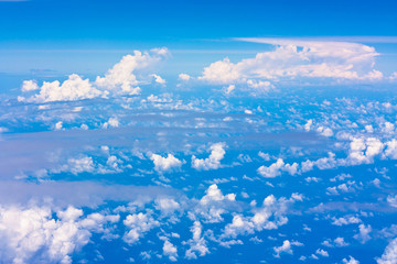 Flying Daylight Clouds
