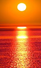 Sunset Gold Sun