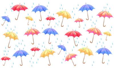 umbrella pattern illustration
