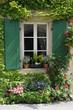 Blumenfenster in Riquewihr