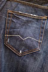 Bolsillo trasero pantalón vaquero