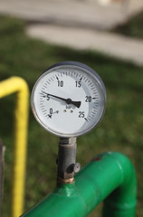 Manometer ,equipment for gas pressure measure