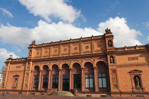 Hamburger Kunsthalle, famous art museum in Hamburg