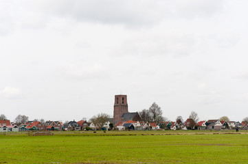 Typical small Dutch village