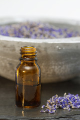 Wellness care products lavender