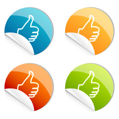 thumbs up logo
