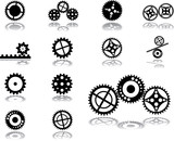Set icons - 174. Gears
