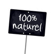 "Ardoise ""100% naturel"""