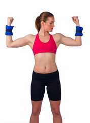 strong woman exercise