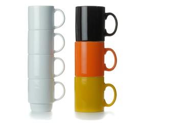 Stacks of Mugs