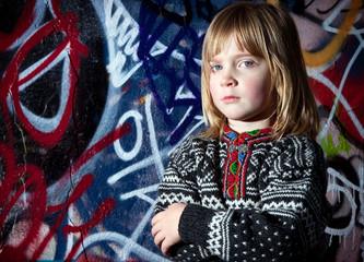 graffiti child cool street art