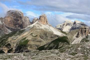 panorama des dolomites italiennes