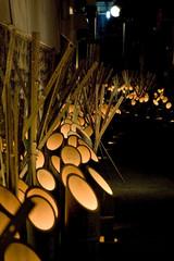 日本の祭り、うすき竹宵