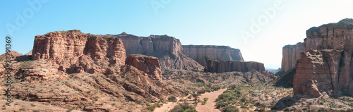 Papiers peints Canyon Talampaya national park, Argentina. Sandstone cliffs