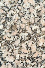 Full Frame Close-Up of Polished, Black and White Granite Surface