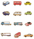 Fototapety cartoon car icon