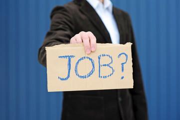 Haben Sie einen Job für mich?