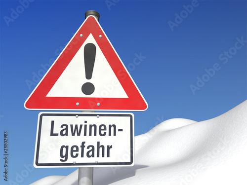 Achtung Lawinengefahr!