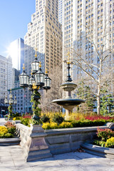City Hall Park, New York City, USA