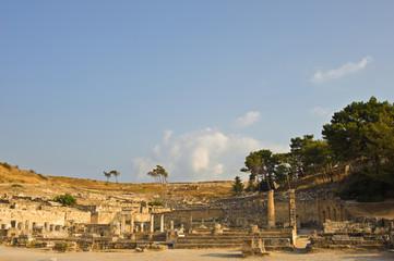 Antike Stadt Kamiros auf Rhodos in Griechenland