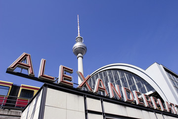 Berlin: Alexanderplatz and Fernsehturm