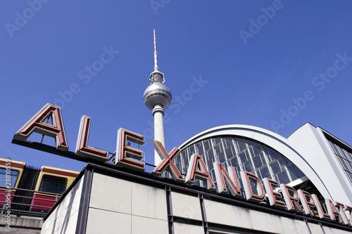 Berlin: Alexanderplatz and Fernsehturm