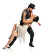 Couple Dancing Ballroom Style