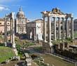 Foro Romano, Arco di Settimio Severo, Roma