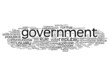 "Word Cloud ""Government"""