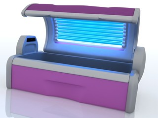 Solarium ready for use