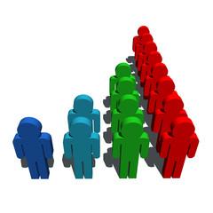 demography population symbol