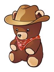 Cowboy Teddybear