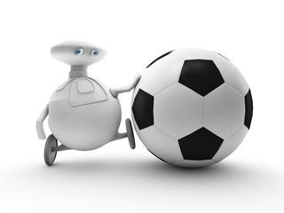 robomas futbolero