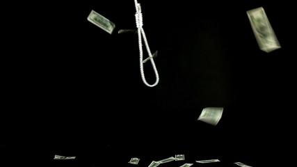 Slipknot on black - dollars fall