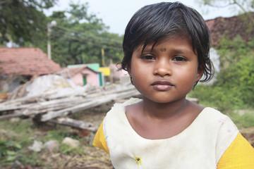 Indian Village Girl