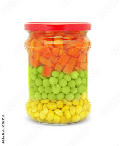 vegetable mix jar