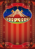 circus show flyer poster