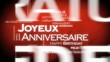 Joyeux anniversaire traduction langues international animation
