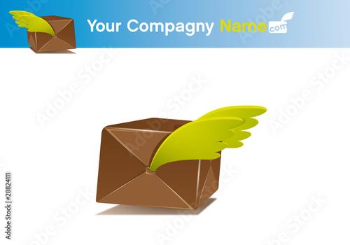 logo livraison colis de fichier vectoriel libre de droits 28824111 sur. Black Bedroom Furniture Sets. Home Design Ideas