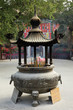 Incense burner at Buddhist Temple in Hong Kong
