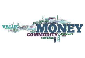 "Word Cloud ""Money"""