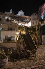 Matera by night. Basilicata.