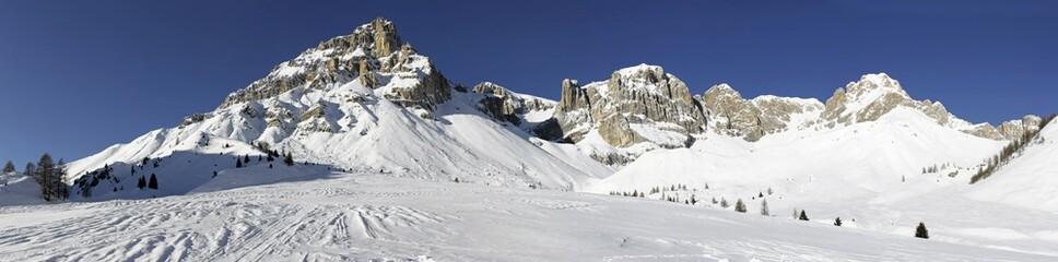 Dolomiti landscape from Rifugio Fuciade