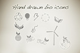 Hand drawn bio icons