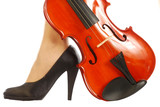 The sensuality of the violin