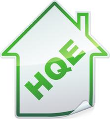 Sticker des bâtiments HQE (détouré)