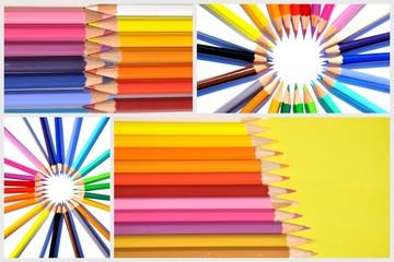 crayons de couleur composition (multi)