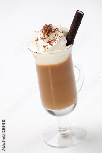 Vanilla Chocolate Chip Coffee Cocktail - Coffee Warmers